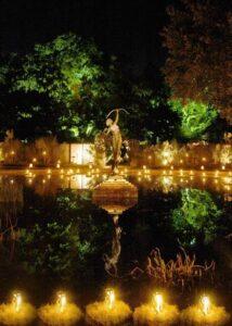 Christmas, Brookgreen Gardens,, lights, celebrate
