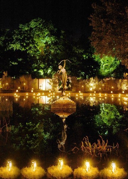 Christmas, Brookgreen Gardens,, lights, celebrate
