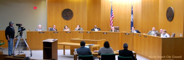 June 9th - City Council passes motion giving complete control of $23 million in tax funds to the Myrtle Beach Area Chamber of Commerce