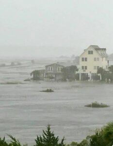 Oceanfront Flooded Homes