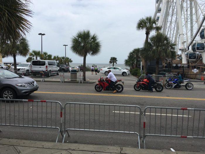 Families Visit Nearby Beaches During Black Bike Week Myrtle Beach Sc