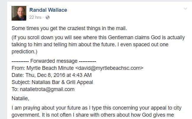 Randal Wallace Attack